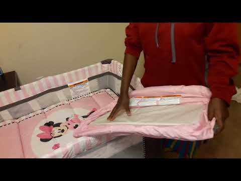 How To Assemble A Disney Baby Mini Mouse Blushing Bows Play Yard.