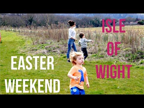 EASTER WEEKEND ISLE OF WIGHT | TRAVEL VLOG