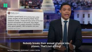 Late Night Hosts Speculate On Trump Hospital Visit