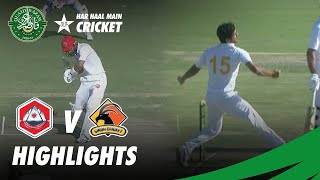 Full Highlights | Sindh vs Northern | DAY 4 | QeA Trophy 2020-21 | PCB | MC2T