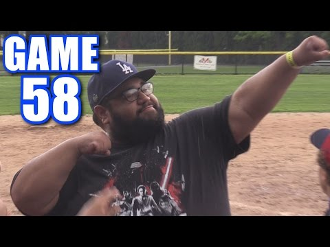 CHARGING THE MOUND! | On-Season Softball Series | Game 58