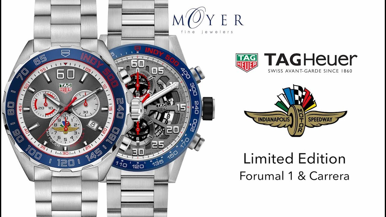 New for 2018: TAG Heuer Limited Edition Indianapolis 500 Watches at Moyer  Fine Jewelers