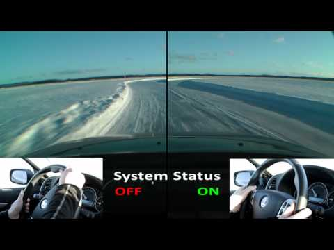 e-AAM Electric Torque Vectoring System Comparison on Ice Handling Track
