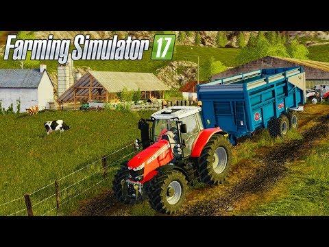 J'AI UNE NOUVELLE MAP À VOUS PRÉSENTER !!! 😁 (Old Slovenian Farm) - Farming simulator 17