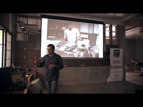 Tarun  Mehta - Evolution of a Product at Creative Mornings, Bangalore