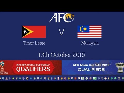 FULL MATCH -Timor Leste vs Malaysia: 2018 FIFA WC Russia & AFC Asian Cup UAE 2019 (Qly RD 2)