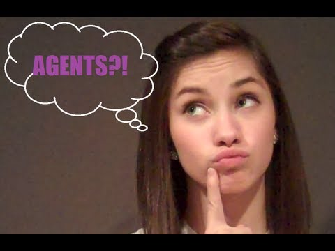 How To Get A Talent Agent!  JENNA LARSON