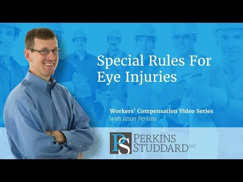 Special Rules For Eye Injuries