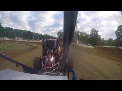 US 24 Speedway Heat Race Senior Class 7-22-2017