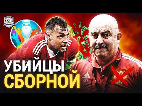 Черчесов и Дзюба, yёбывайте! | Россия – Дания