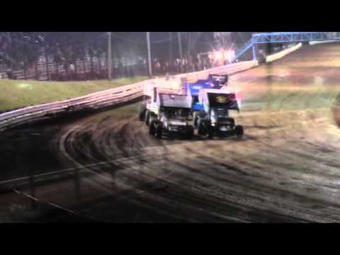 Williams Grove Speedway 410 and 305 Sprint Car Highlights 4-15-16