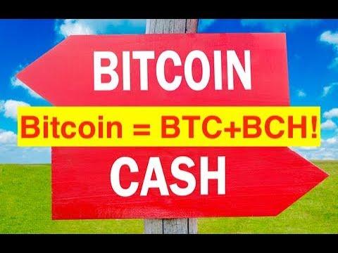 Bitcoin Price = Adding BTC+BCH Prices! (Bix Weir)