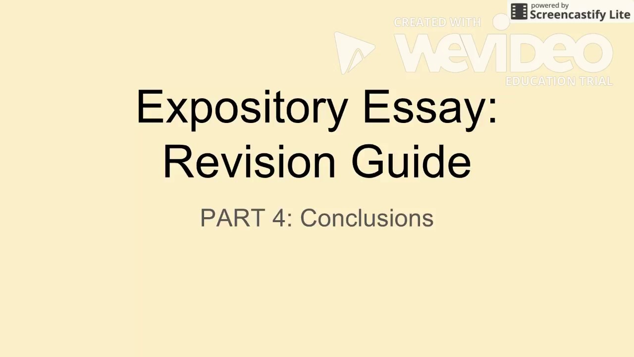 expository essay revision guide part  expository essay revision guide part 4