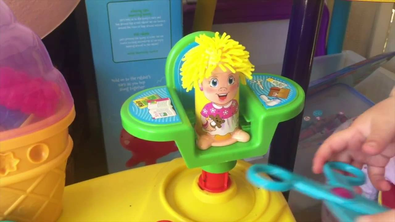 Play Doh Hairdressers Haircut Barber Shop Kids Childs Toy Daddy