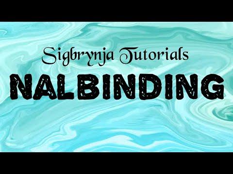 Nalbinding - Oslo Stitch 2nd Row