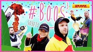 DHL BELT MARECHAUSSEE EN BOOS PLUNDERT LOBBY DHL | #BOOS S03E13