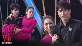 Xôn xao khoảnh khắc khóa môi của hotboy Tuấn Trần dành cho Hương Giang Idol