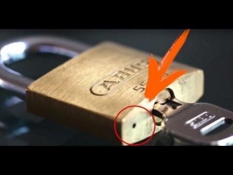¿Te has preguntado para qué sirve el agujero en el candado? - Jesús Marquez