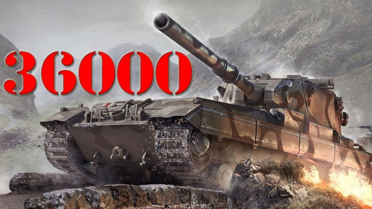 36000 bitwa w world of tanks fv215b 183 youtube. Black Bedroom Furniture Sets. Home Design Ideas