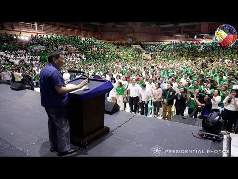 DUTERTE LATEST NEWS MARCH 22, 2018 | DUTERTE AT THE (NECC) NATIONAL CONVENTION IN CUNETA ASTRODOME