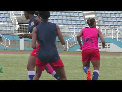 T&T Senior Women prepare to face Suriname in CFU Challenge Series opener