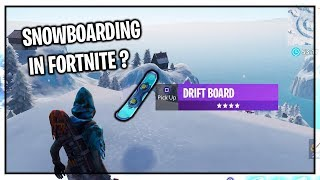 NEW DRIFTBOARD IN FORTNITE? - NEW FORTNITE DOWNTIME UPDATE! (New Fortnite V7.10 Update)