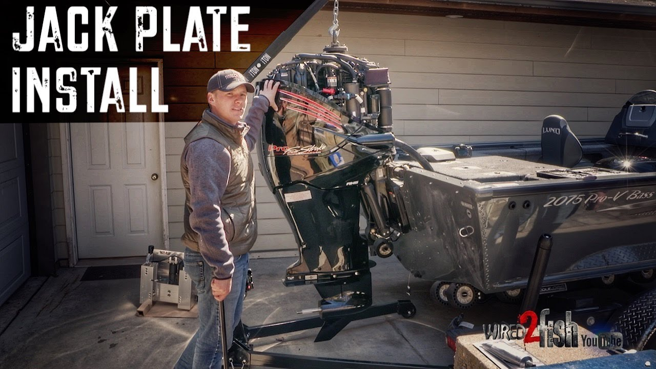 medium resolution of how to install t h marine atlas jack plate