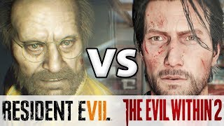 Resident Evil 7 .vs The Evil Within 2 أيهما أفضل؟