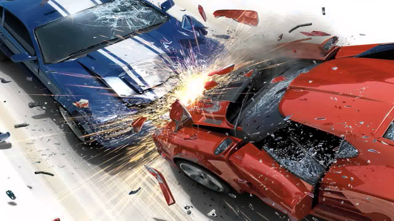 car crash 3d