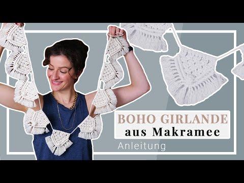 Einfache Boho Makramee