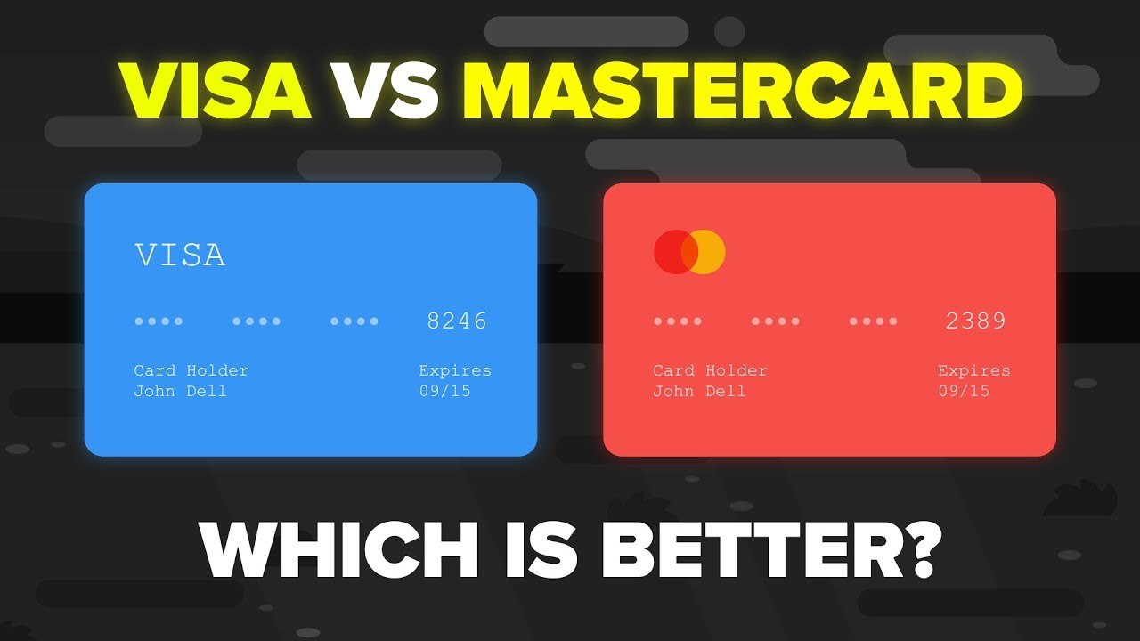 visa vs mastercard how do they compare credit card comparison
