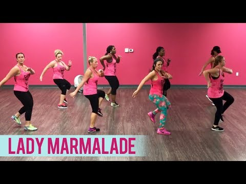 Christina Aguilera - Lady Marmalade ft. Lil' Kim, Pink & Mya (Dance Fitness With Jessica)