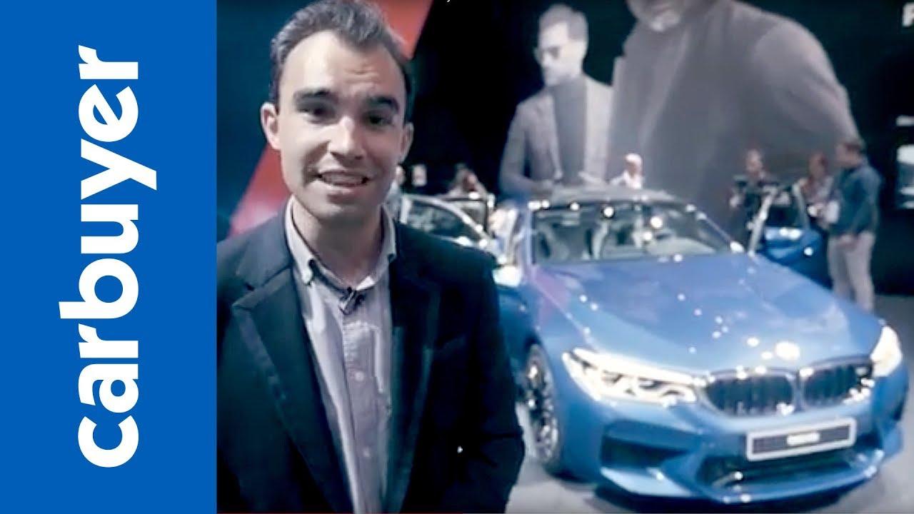 New BMW M5: prices, performance, specs and release date - Frankfurt Motor Show - Carbuyer - Dauer: 82 Sekunden