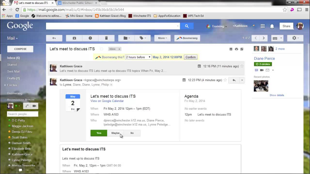 how to make an invitation on gmail