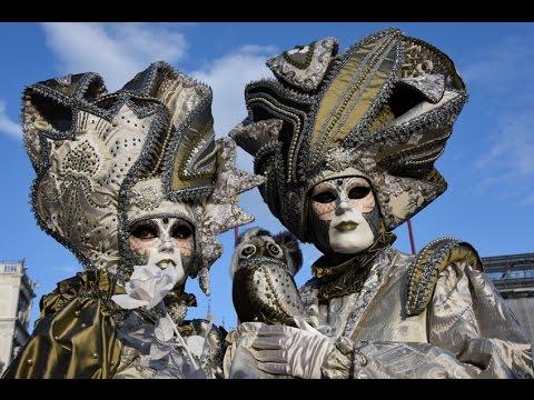 carnevale di venezia 2015, carnival Venice 4K