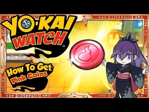 Yo-Kai Watch - How To Get Infinite Pink Coins & RARE Damona EASY! [Tips & Tricks]