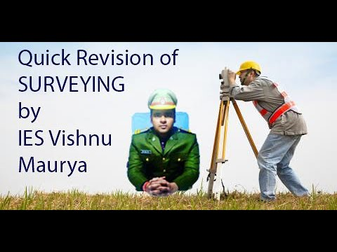 Surveying revision|| 30min|| by IES Vishnu maurya