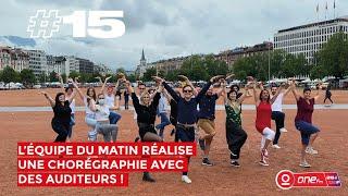 #15: L'Equipe du Matin réalise une chorégraphie avec les auditeurs 🎉