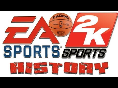 HISTORY OF NBA LIVE AND NBA 2K GAMES - 1995 to 2012