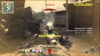 MW3 Chaos Mode: 215million Score - 954 Combo in Village - RelaxingEnd & MatoM21