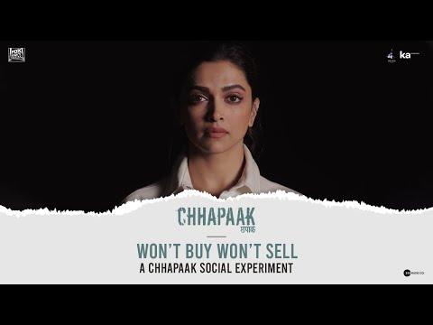 Won't Buy Won't Sell | Chhapaak | Deepika Padukone, Vikrant Massey, Meghna Gulzar
