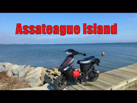49cc Scooter Road Trip To Assateague Island National Seashore