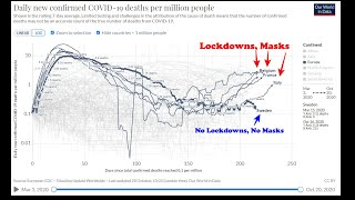 What Part Of This Graph Isn't Clear? Lockdowns=poverty and death. Masks=increased Covid rates