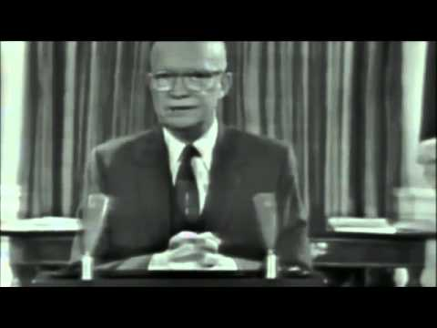 an analysis of eisenhowers farewell address Fifty years ago, on january 17, 1961, president dwight d eisenhower delivered his famous farewell address the speech ranks, as eisenhower intended it to, with read more.