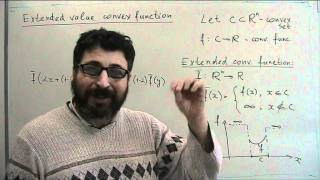 Lecture 4-5: Convex sets and functions