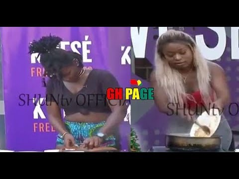 Ebony and Efya Odo Cooking Competition