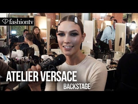 Atelier Versace Spring/Summer 2014 Backstage | Paris Haute Couture Fashion Week | FashionTV
