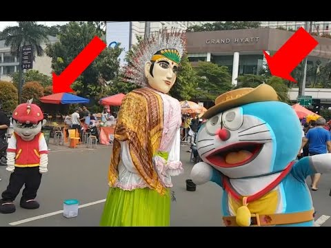 Ondel Ondel Vs Doraemon Dan Boboiboy Youtube
