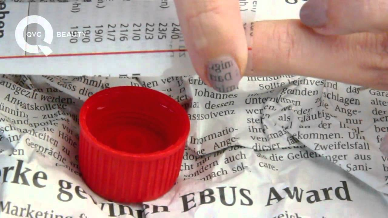 Newspaper Nails Tutorial - YouTube