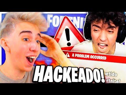 Le Hackeo la cuenta de Fortnite a Agustin51...